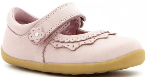 Bobux Lotus Dollhouse Mary Jane Shoe in Pink