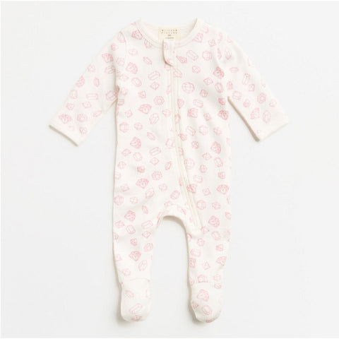 Wilson & Frenchie Little Gem Zipsuit
