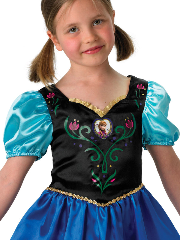 Anna Frozen Classic Costume, Child