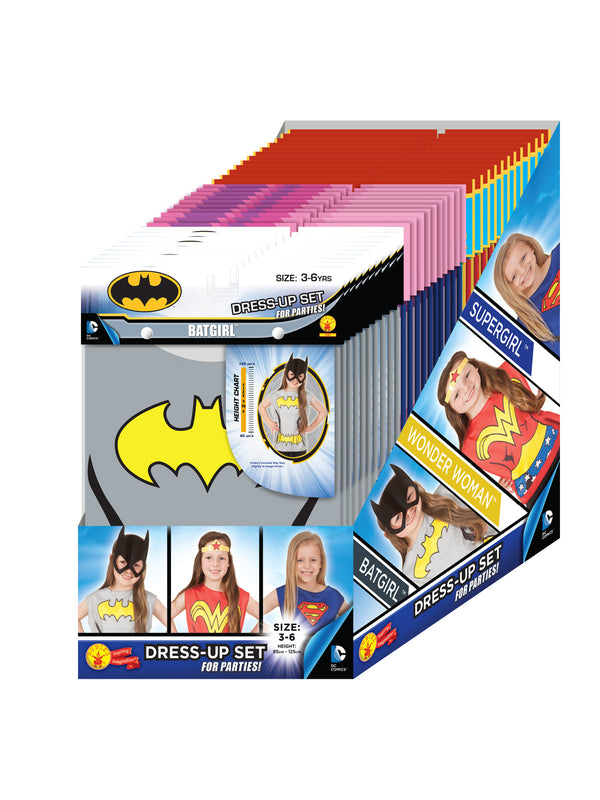 Dc Comics Girls Partytime Asst 32 Pack, Child