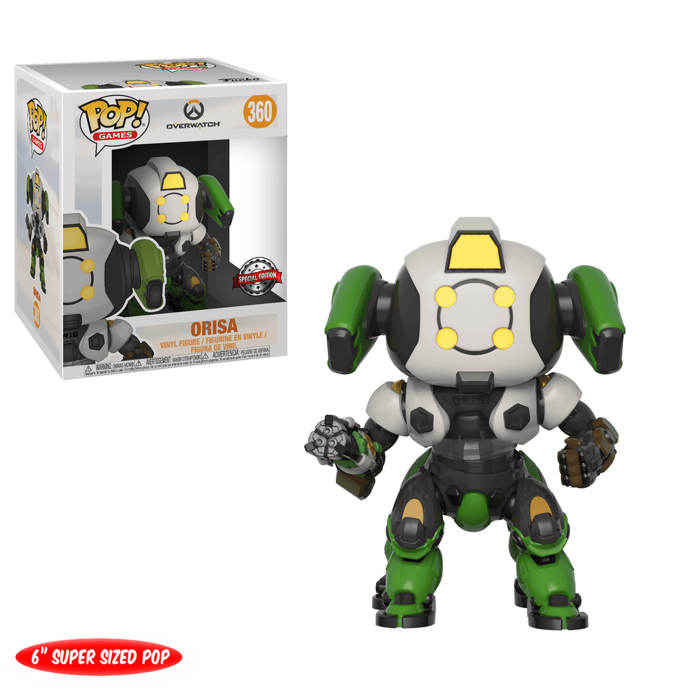 "Overwatch - Orisa 6"" o R15 Skin Super Sized Pop! Vinyl Figure"