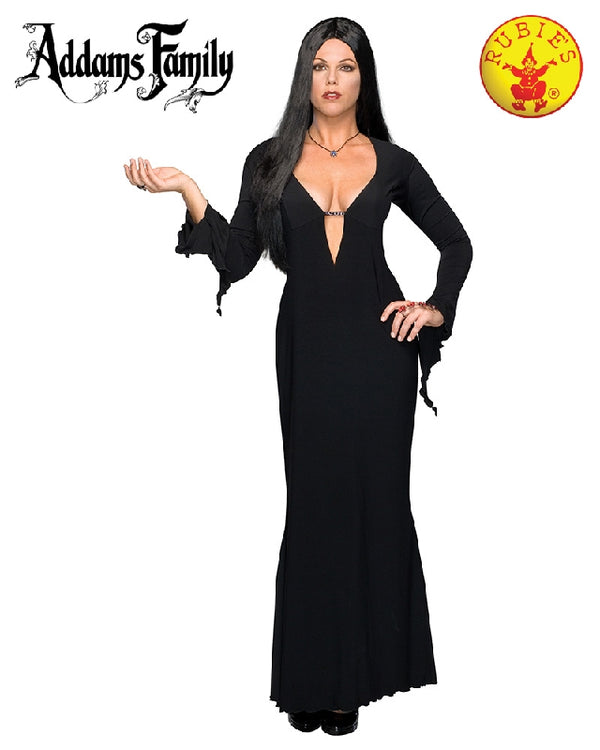Morticia Deluxe Plus Costume, Adult