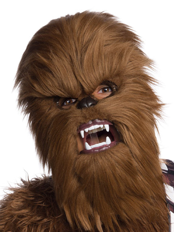 Chewbacca Moveable Jaw Mask - One Size Only