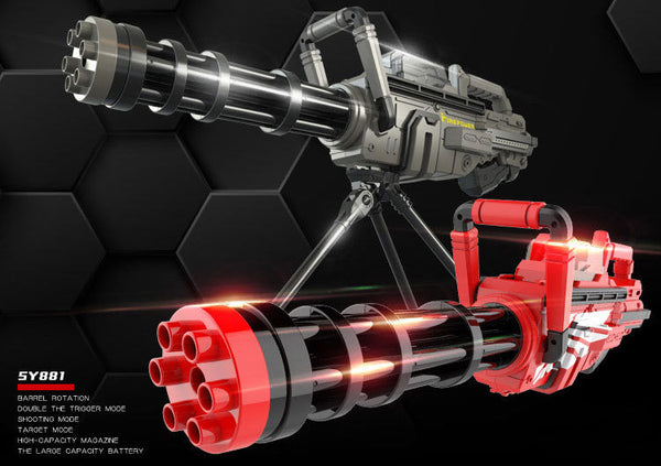 Gatling Gel Ball Blaster Cosplay Gun