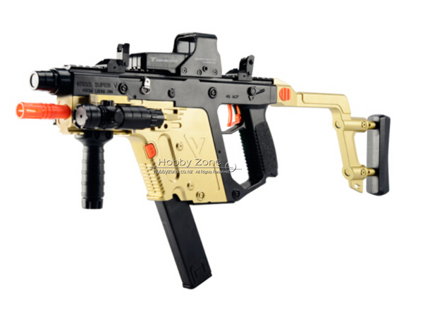 LH-508 Kriss Vector Gold Gel Ball Blaster Cosplay Gun