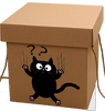 Curious Cat Gift Box