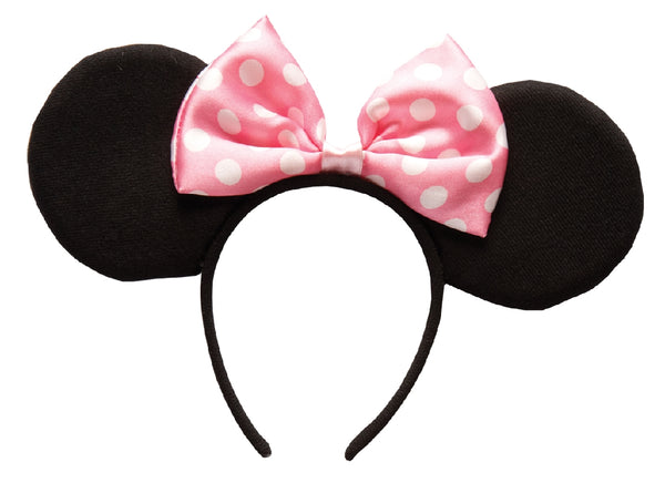 Minnie Mouse Ears Headband - Child