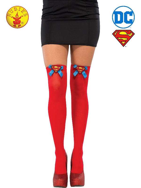 Supergirl Thigh Highs - Adult