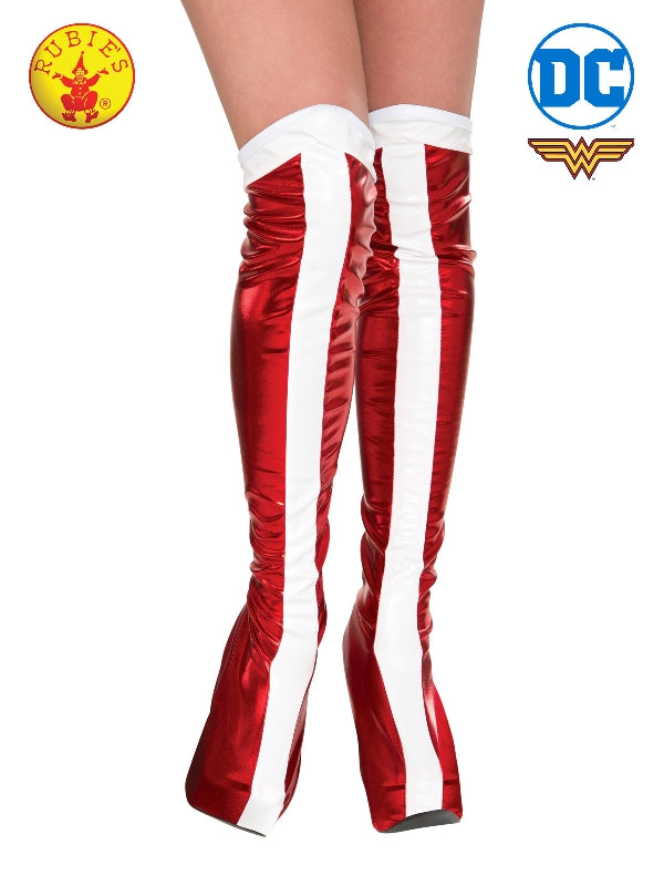 Wonder Woman Boot Tops - Adult
