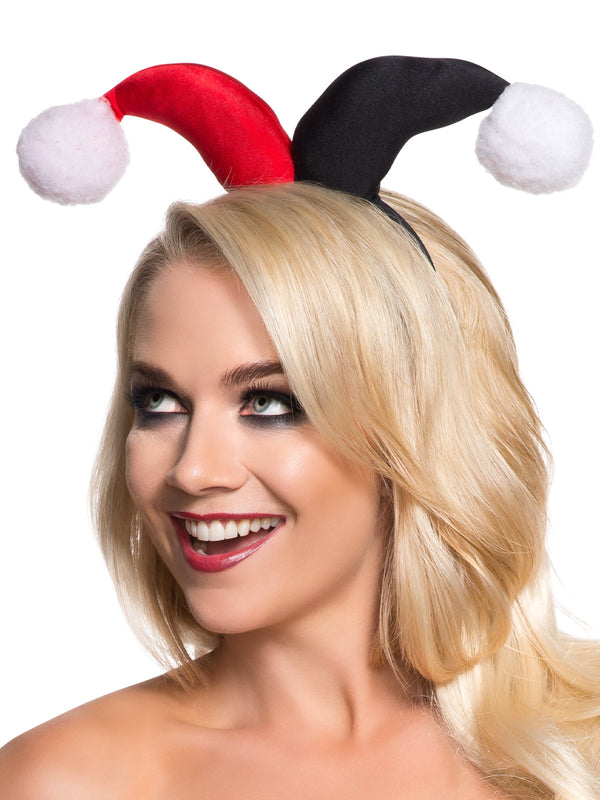 Harley Quinn Headband - Adult