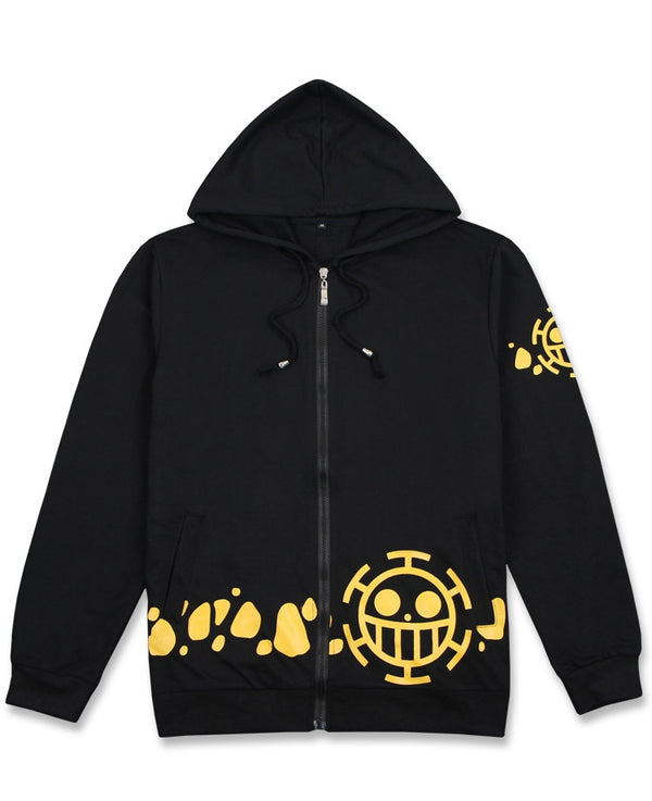 One Piece Trifagar Law Costume Cosplay Hoodie