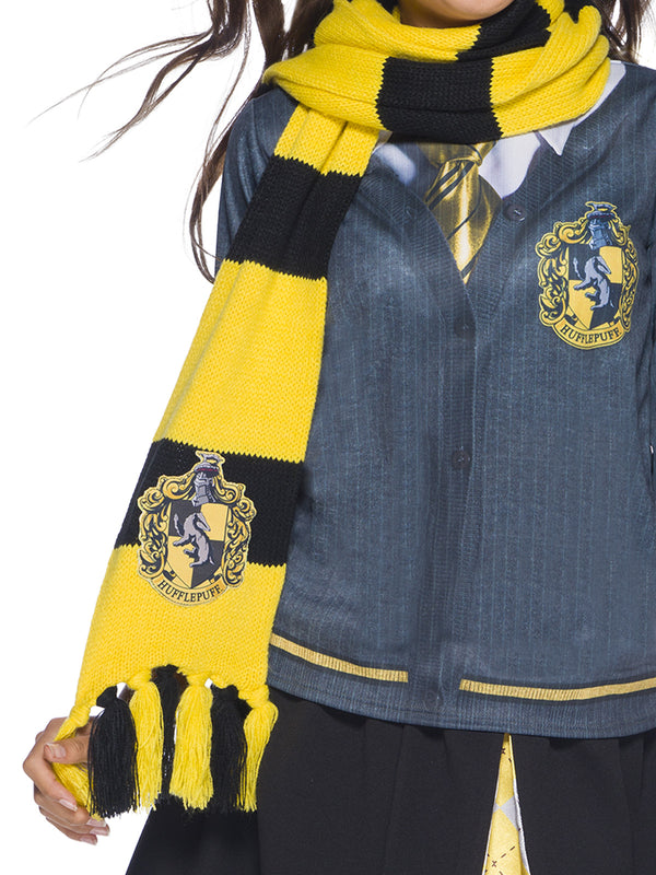 Hufflepuff Deluxe Scarf, Child