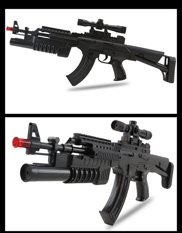 AK-47 Electric Toy Gun with Scope