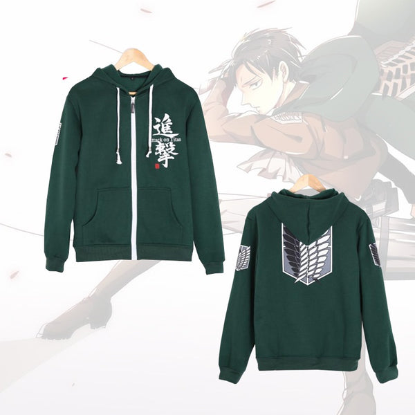 Attack on Titan Survey Corp Costume Hoodie