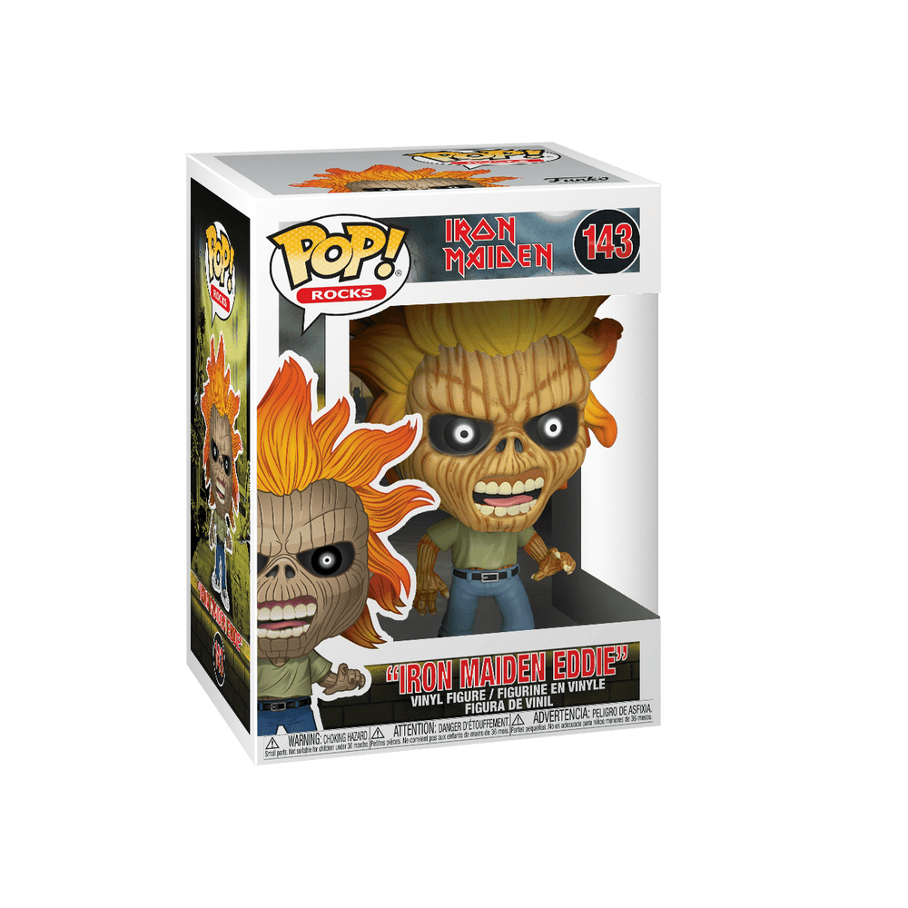 Iron Maiden - Iron Maiden Skeleton Eddie Pop! Vinyl Figure