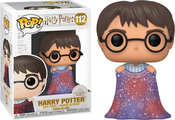 Harry Potter - Harry Potter with Invisibility Cloak Pop! Vinyl Figure