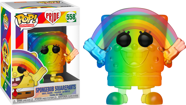 SpongeBob SquarePants - SpongeBob SquarePants Rainbow Pride 2020 Pop! Vinyl Figure