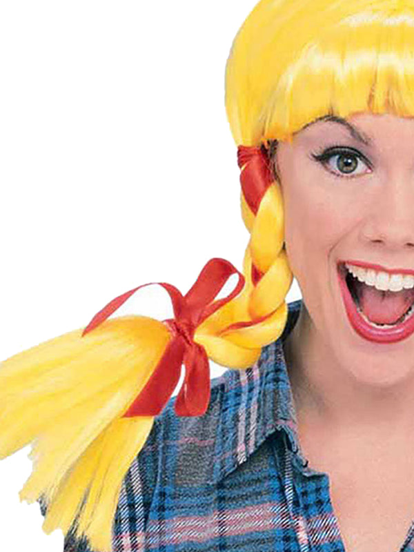 Country Girl Yellow Wig - Adult
