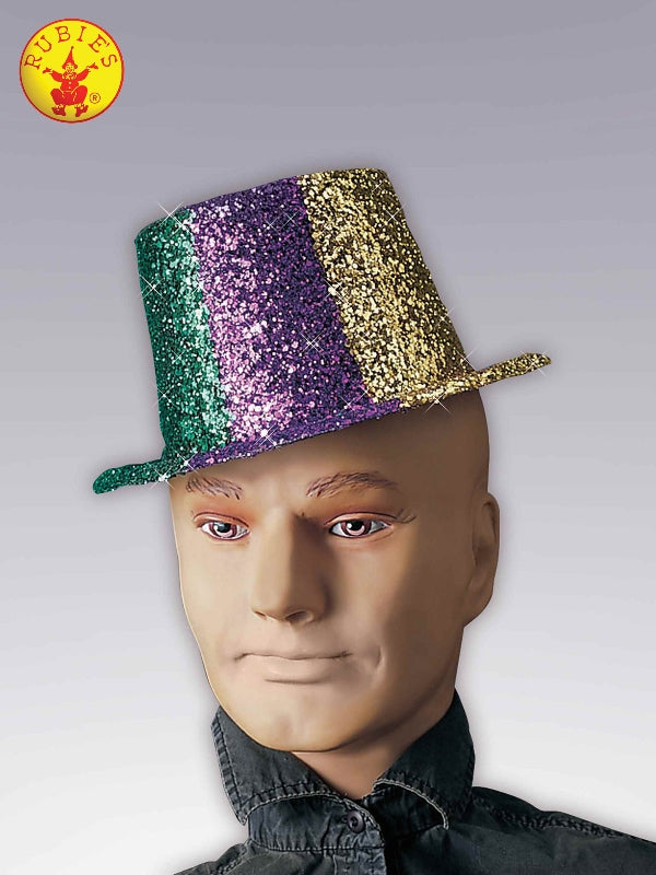 Glitter Top Hat - Adult