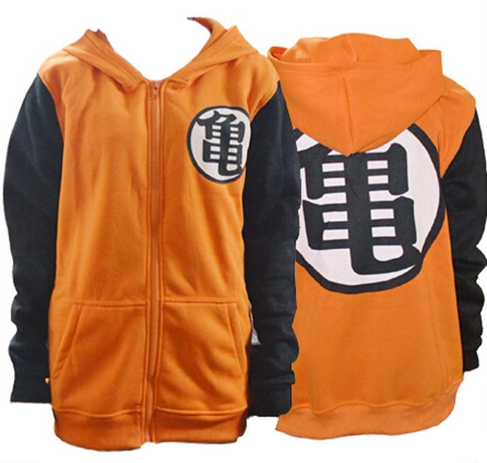 Dragon Ball Z Hoodie Warrior Costume Cosplay