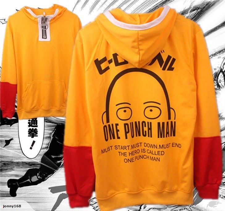 One Punch Man Saitama Costume Cosplay Hoodie