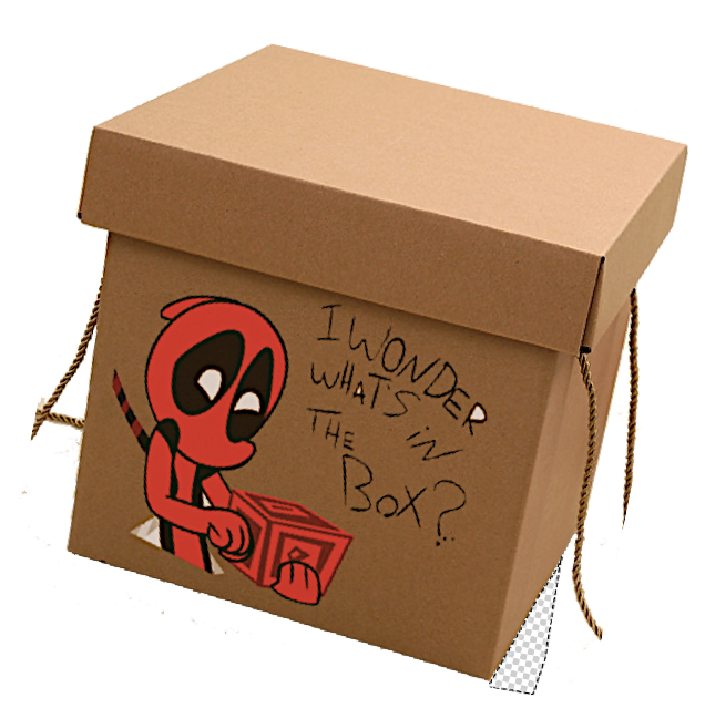 Chibi Deadpool Surprises Gift Box