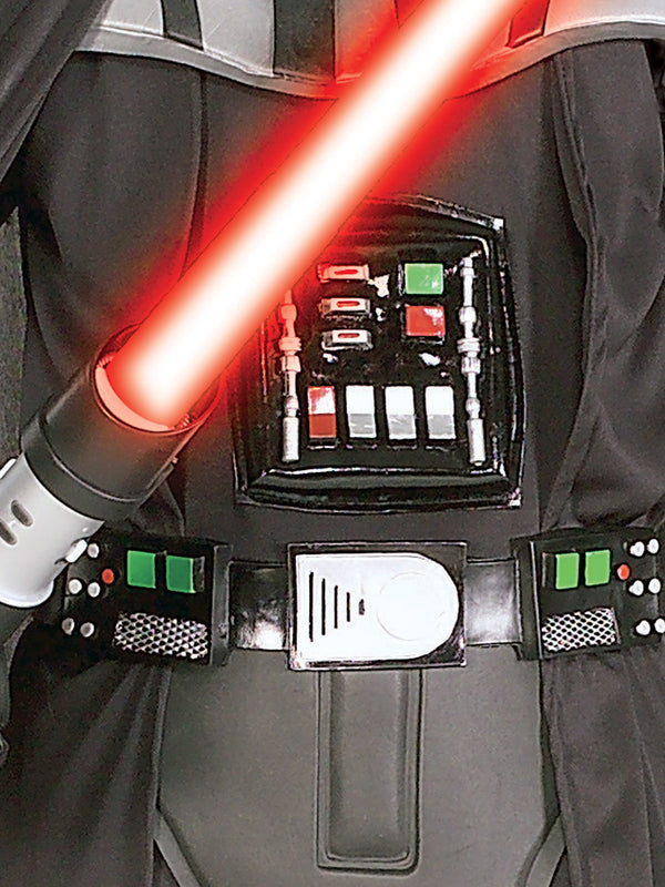 Darth Vader Deluxe Costume With Lightsabre, Child