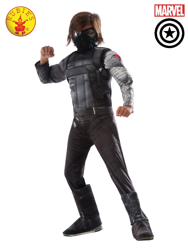 Winter Soldier Cw Deluxe Child - Size S