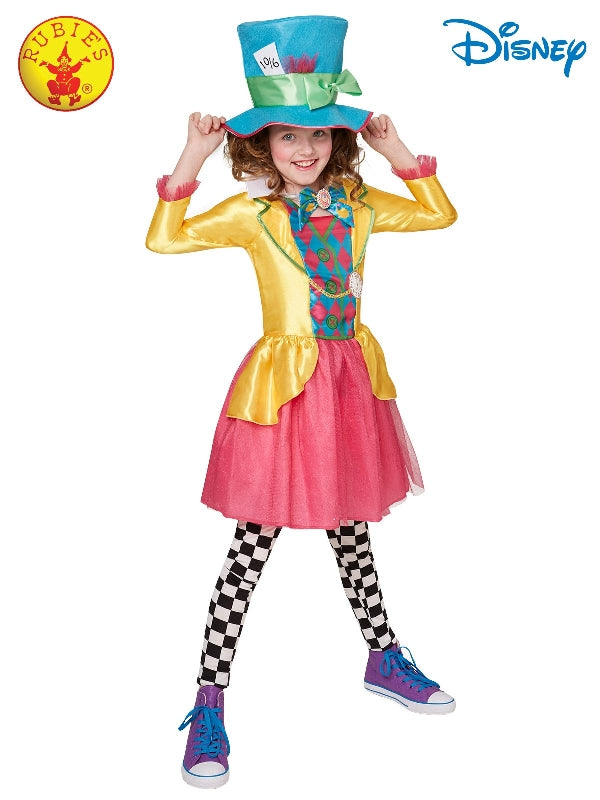Mad Hatter Girls Deluxe Costume (Large Polybag), Teen