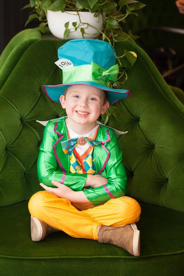 Mad Hatter Boys Deluxe Costume (Large Polybag), Tween
