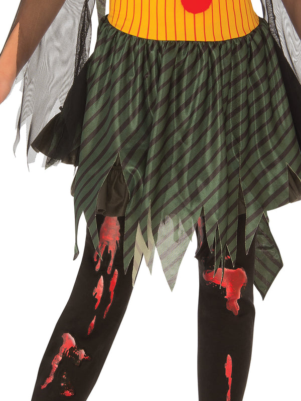 Zombie Girl Clown Costume, Child