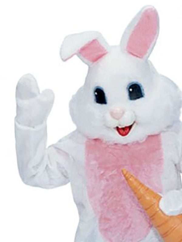 Rabbit Premium Mascot Costume White - Adult