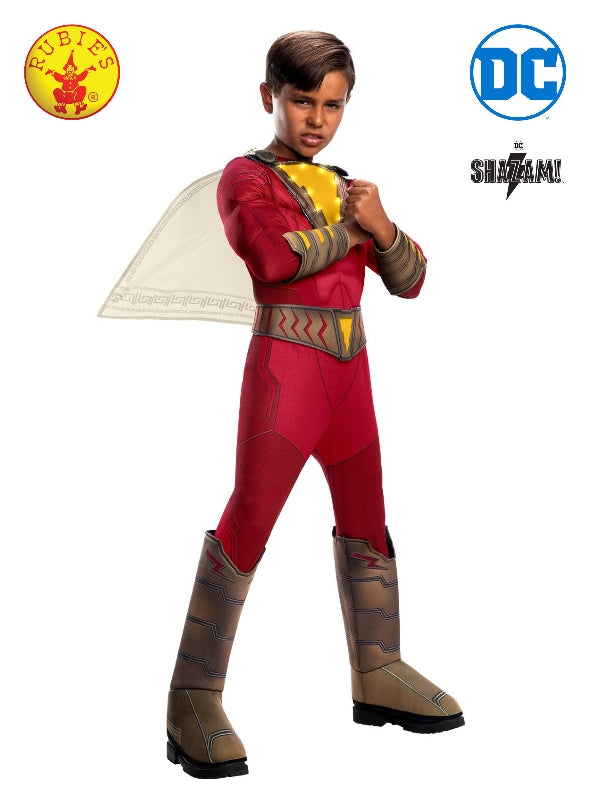 Shazam Deluxe Light Up Costume, Child