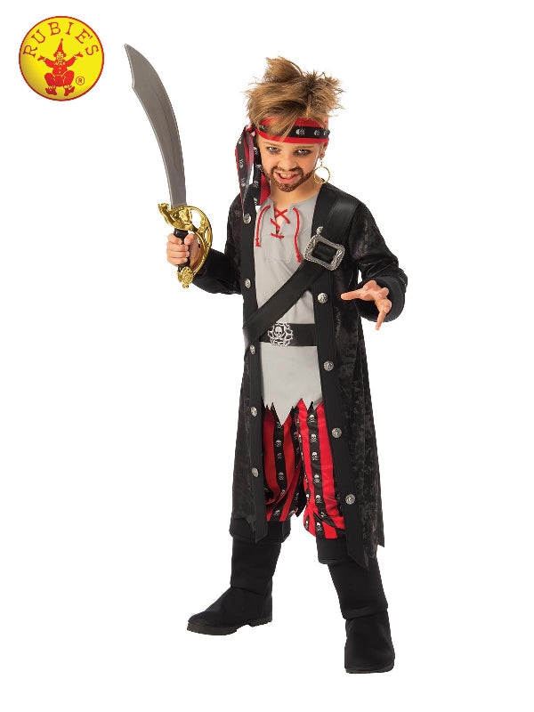 Swashbuckling Pirate Boy Costume, Child