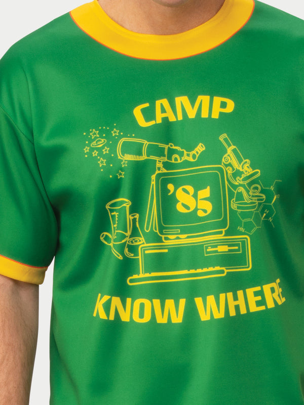 Dustin Camp Know Where Stranger Things T-Shirt, Adult