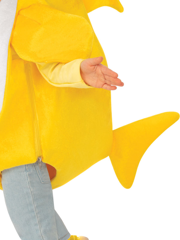 Baby Shark Deluxe Yellow Costume, Child