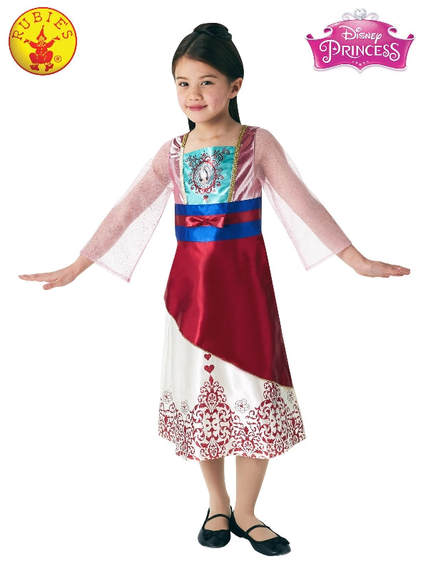 Mulan Gem Princess Costume, Child