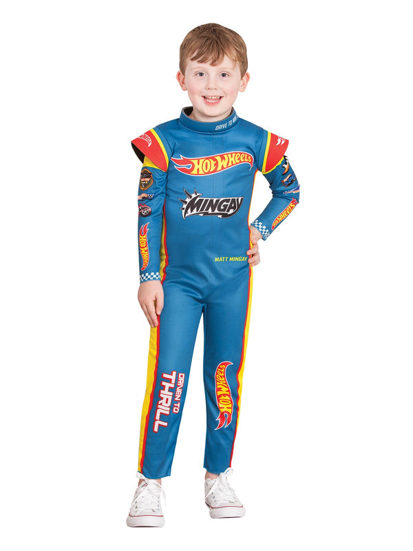 Hot Wheels Matt Mingay Racing Suit, Child