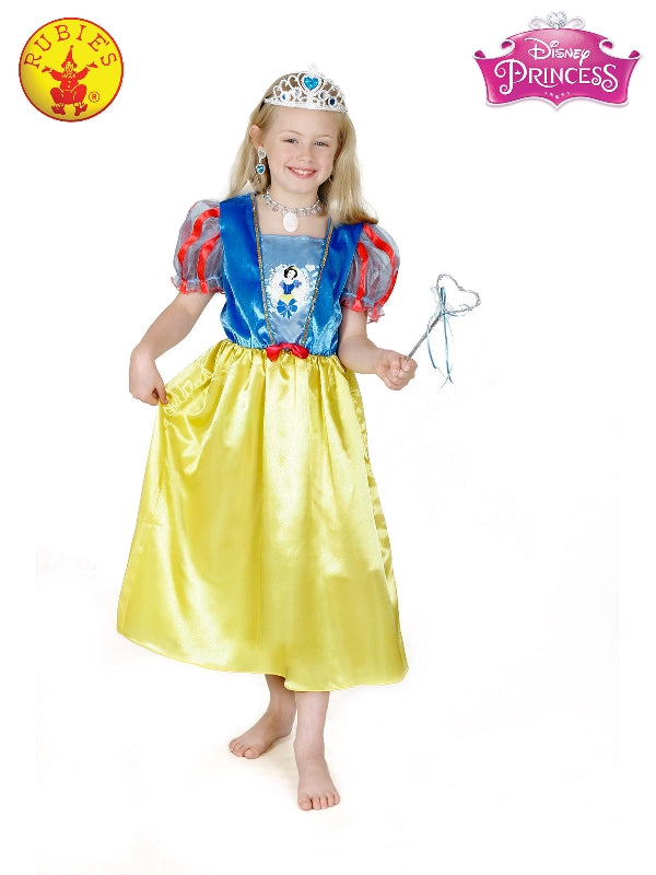 Snow White Glitter Classic Costume, Child