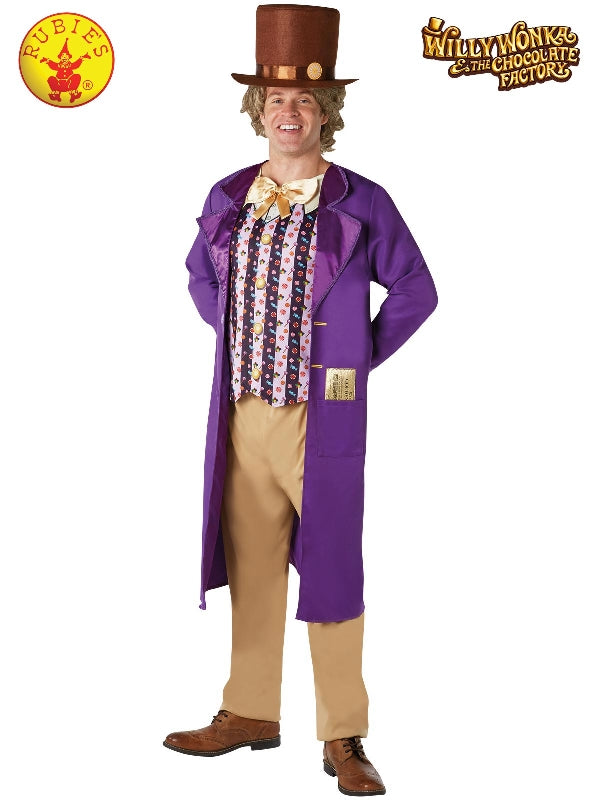 Willy Wonka Deluxe Costume, Adult