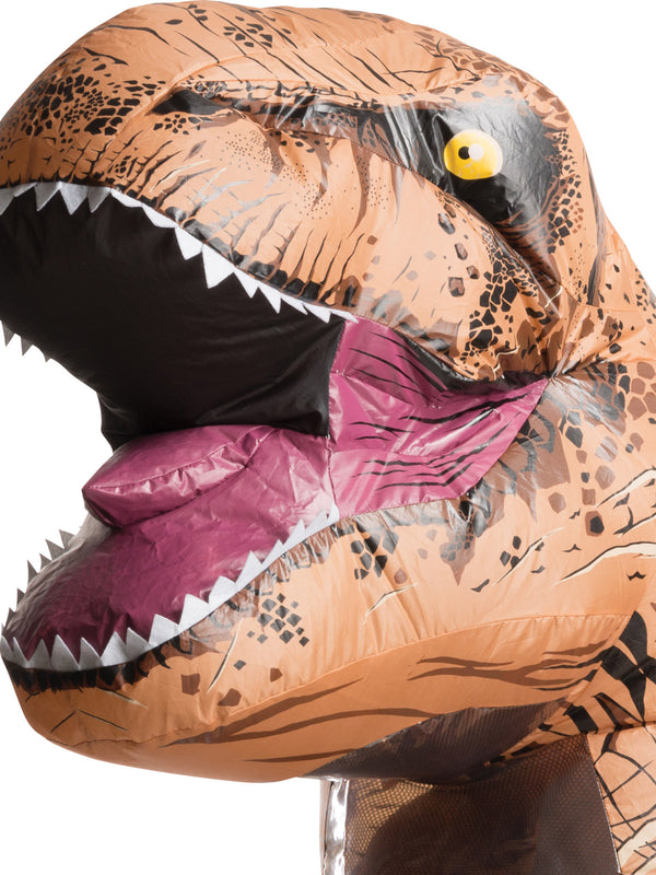 T-Rex Inflatable Costume With Sound, Adult