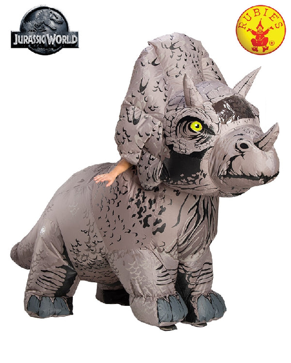 Triceratops Inflatable Costume, Adult