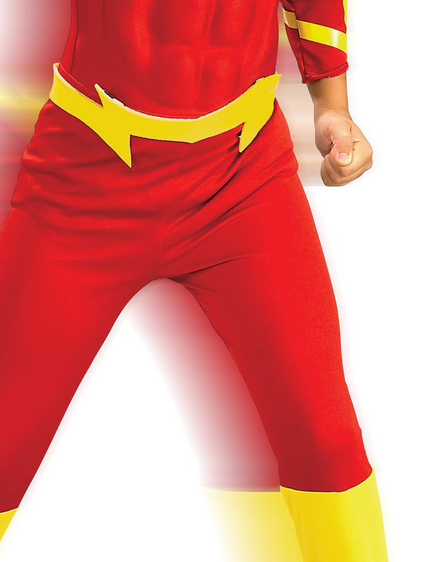 The Flash Deluxe Muscle Chest Costume, Child
