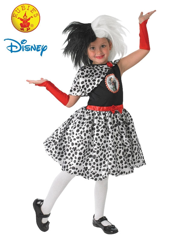 Cruella De Vil Deluxe Costume, Child