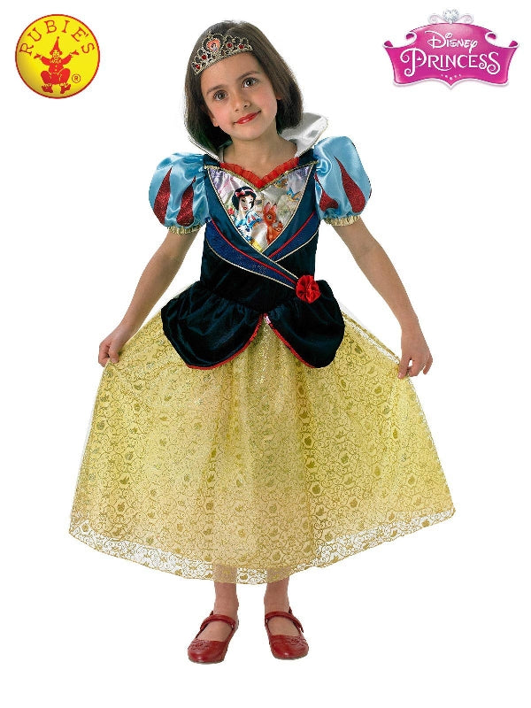 Snow White Shimmer Deluxe Costume, Child