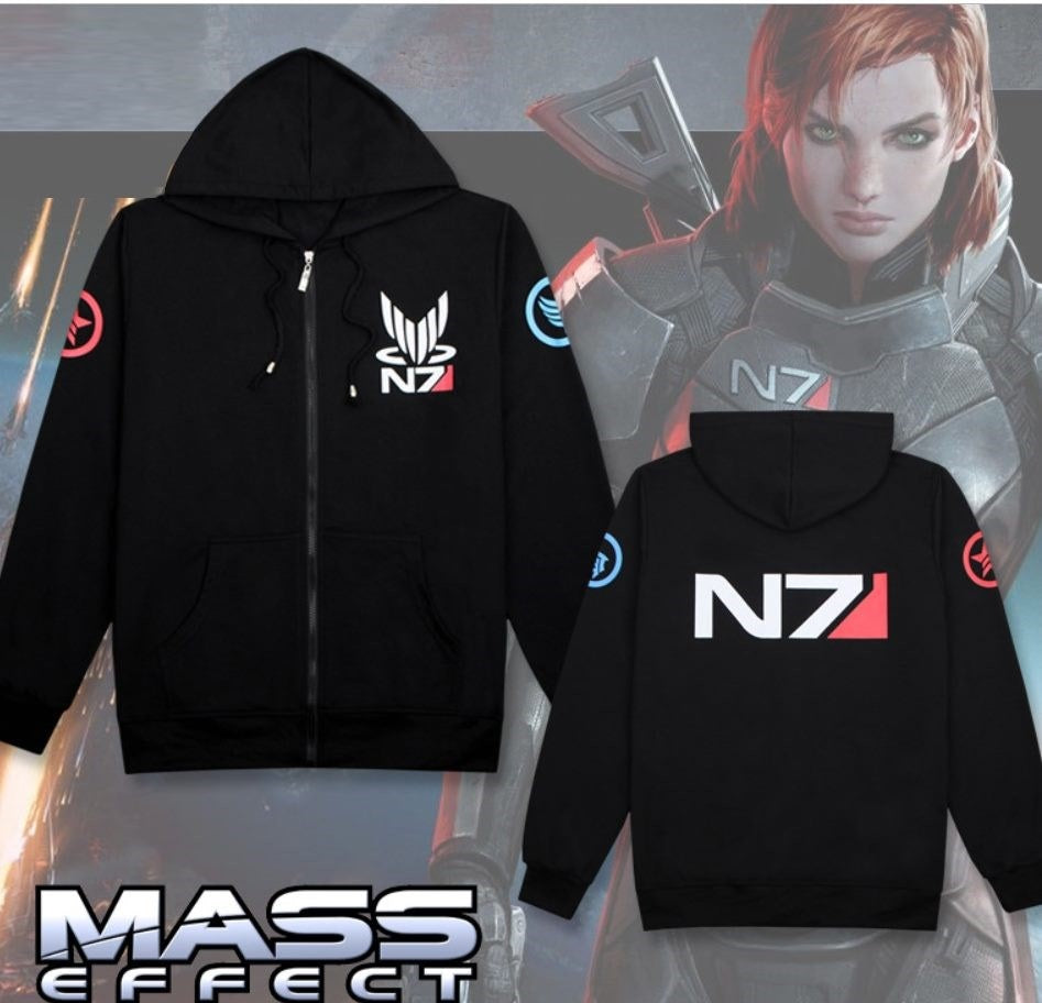 Mass Effect Cosplay Costume Hoodie
