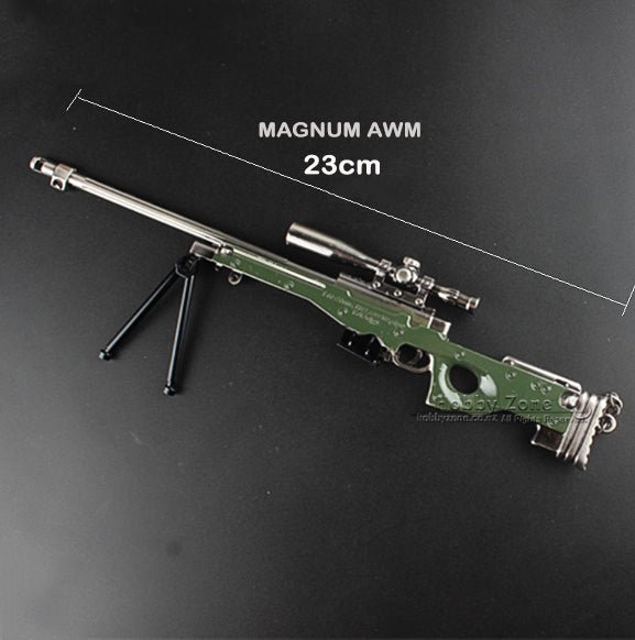 PUBG 23cm AWM Sniper Rifle Miniature Gun Model