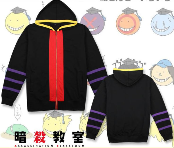 Assassination Classroom Kurosensei Costume Cosplay Hoodie