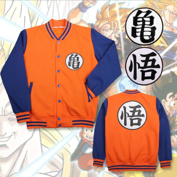 Dragon Ball Warrior Costume Cosplay Jacket