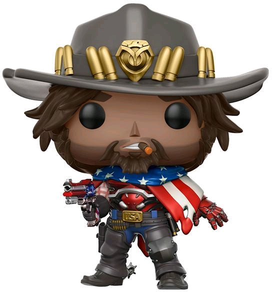 Overwatch - USA McCree US Exclusive Pop! Vinyl